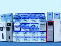 半兰山矿泉水产品展示